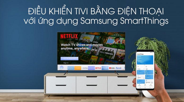 Wide viewing Angle-Smart Tivi QLED Samsung 4K 55 inch QA55Q70T