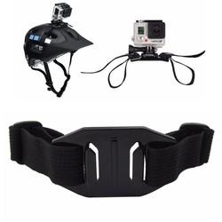 Dây đeo mũ bảo hiểm xe đạp cho GoPro, Sjcam, Yi Action, Osmo Action