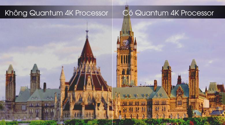 Quantum 4K processor-Smart Tivi QLED Samsung 4K 85 inch QA85Q70T