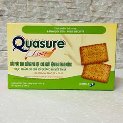 Bánh Quy Quasure Light Sữa 140 gam- Cho người tiểu đường, ăn kiêng