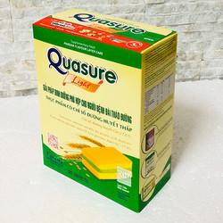 Bánh Bông lan Quasure Light Cốm hộp 126 gam- Cho người tiểu đường, ăn kiêng