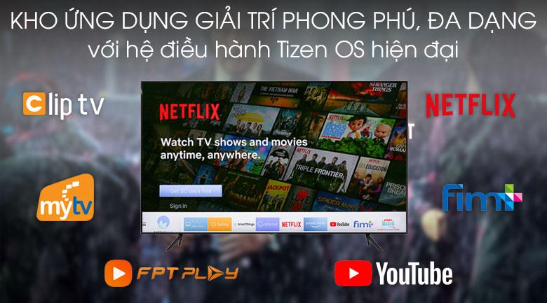 Ambient Mode-Smart Tivi QLED Samsung 4K 55 inch QA55Q70T