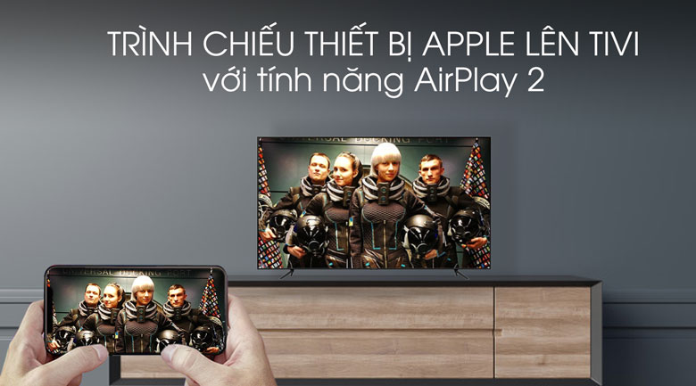 Remote-Smart Tivi QLED Samsung 4K 55 inch QA55Q70T