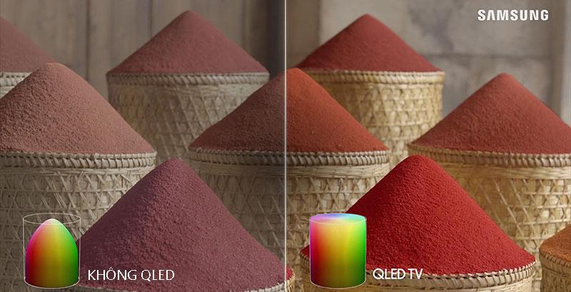 QLED-Smart Tivi QLED Samsung 4K 55 inch QA55Q70T