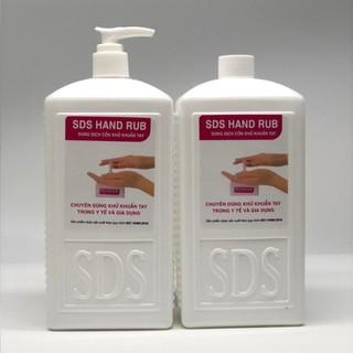 Dung dịch sát khuẩn tay nhanh - SDS Hand Rub 500ml [COMBO 2 chai] - SDS Hand Rub 500m thumbnail