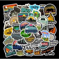 Sticker PHIÊU LƯU nhựa PVC không thấm nước, dán nón bảo hiểm, laptop, điện thoại, Vali, xe, Cực COOL #36
