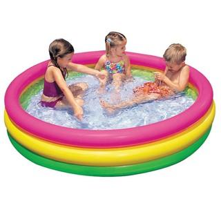 Bể bơi tròn 3 tầng cầu vồng 57412 - PHAO05 thumbnail