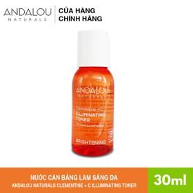 [Freeship 35K] Nước Cân Bằng Làm Sáng Da Andalou Naturals Clementine + C Illuminating Toner 30ml - 251002