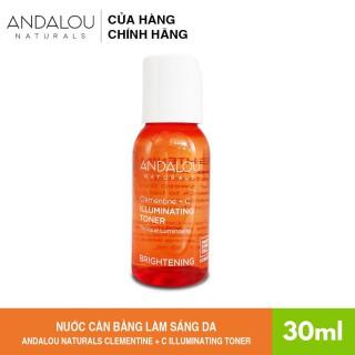 [Freeship 35K] Nươ c Cân Bă ng La m Sa ng Da Andalou Naturals Clementine + C Illuminating Toner 30ml - 251002 thumbnail