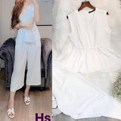 Set áo và quần dài vải lụa 40-60kg
