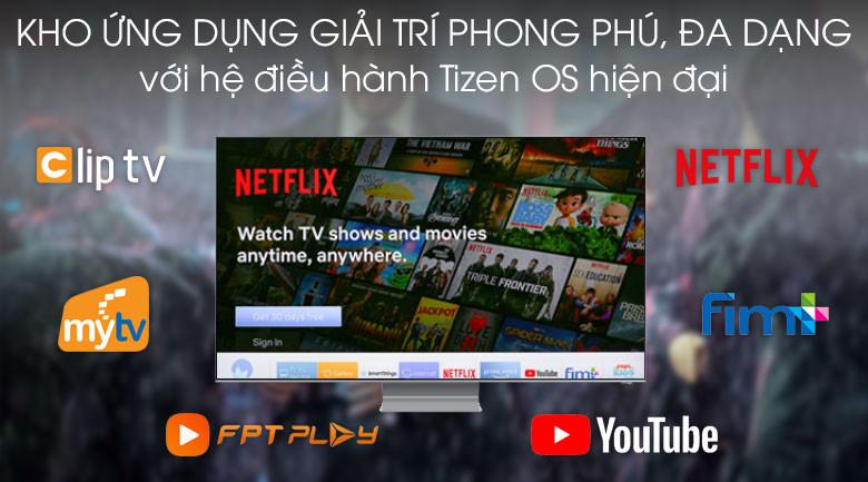 Thiết kế-Smart Tivi QLED Samsung 8K 75 inch QA75Q800T