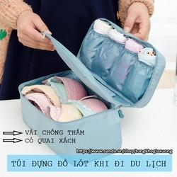 Túi đựng đồ lót Travel khi đi du lịch tiện ích tongkhogiaxuong