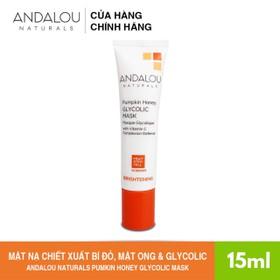 [Freeship 35K] Mặt Nạ Chiết Xuất Bí Đỏ, Mật Ong Và Glycolic Andalou Naturals Pumpkin Honey Glycolic Mask 15ml - 251003