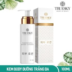 Kem dưỡng trắng da toàn thân Truesky dạng lotion Whitening Body Lotion 100ml - Mỹ phẩm chính hãng - TRUESKY_LOTION1