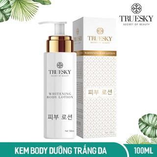 Kem dưỡng trắng da toàn thân Truesky dạng lotion Whitening Body Lotion 100ml - Mỹ phẩm chính hãng - TRUESKY_LOTION1 thumbnail