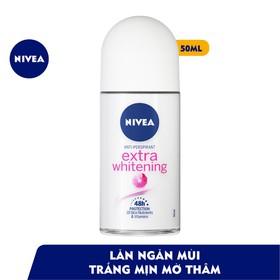 [Free Ship] Lăn ngăn mùi Nivea trắng mịn mờ vết thâm 50ml - lan-nivea-trang-min-50ml