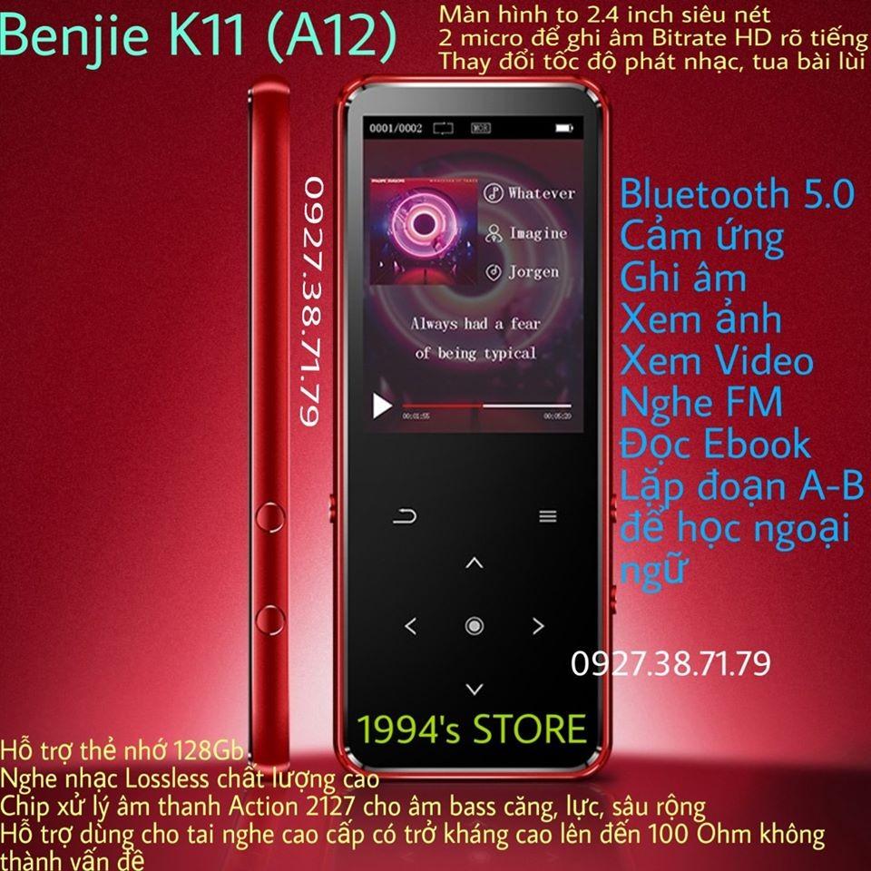 Máy MP3 nghe nhạc Benjie K11