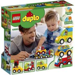 [LEGO CHÍNH HÃNG] 10886 - Bộ Xe Hơi Đầu Tiên Của Bé - LEGO DUPLO My First Car Creations 10886