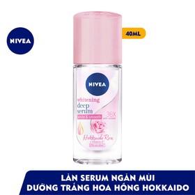 Xã Kho 7 ngày Lăn ngăn mùi Nivea serum trắng mịn hương hoa hồng Hokkaido 40ml Bán Sỉ - gNmOEGZq5qsd2YBZF8tG