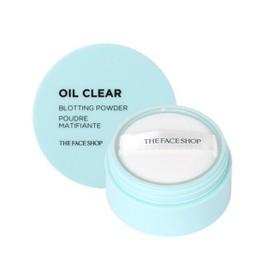 Phấn Phủ Bột Kiềm dầu Trong Suốt OIL CLEAR BLOTTING POWDER The face shop 6 g - ppb