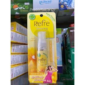 Xịt khử mùi Refre Whitening Baby Powder Hương phấn thơm - refrevang
