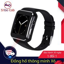 [ Hỗ trợ 20k phí ship] Đồng hồ thông minh X6 màn hình cong gắn sim có bảo hành