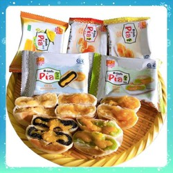 Bánh Pía Tân Huê Viên kim sa mini [Combo ăn thử 10 cái 5 vị]