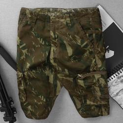 quần shorts kaki túi hộp