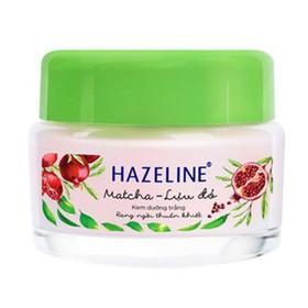 KEM HAZELINE DƯỠNG TRẮNG MATCHA VÀ LỰU ĐỎ 45G Kem mềm - hazeline mềm