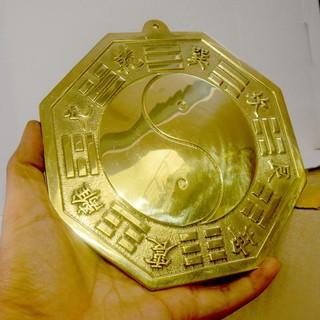 Gương Bát quái phong thủy âm dương bằng đồng cỡ - 4324212 thumbnail