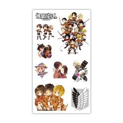Sticker Anime Hình xăm - Attack on Titan Loại 2 [AAM] [PGN30]