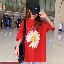[FREE SHIP] ÁO PHÔNG NỮ HOA CÚC - áo phông nữ - áo phông nữ đẹp - áp phông nữ trơn