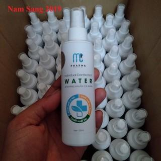 Nước rửa tay xịt kháng khuẩn cá nhân WATER 120ml - Nước rửa tay water 120ml thumbnail