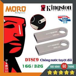 USB 3.0 Kingst0n DTSE9 16GB - 32GB - Chất liệu kim loại - Bảo hành 5 năm