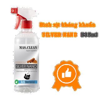 CHAI XỊT KHỬ KHUẨN MAS CLEAN CÔNG NGHỆ NANO BẠC - MASNN635 thumbnail