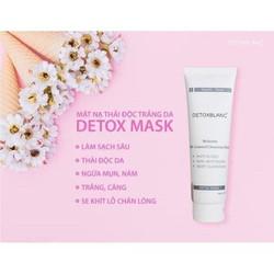 Nạ thải độc trắng da Detox mask