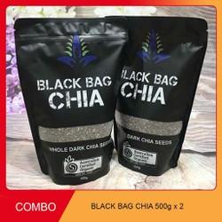 combo 2 túi hạt Chia Black Bag
