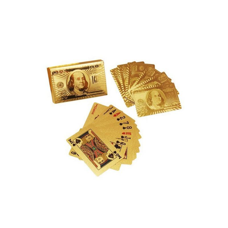 Bài Tây Vàng 24k – bộ bài mạ vàng 24k