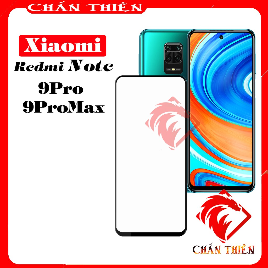 Kính cường lực Xiaomi redmi note 9Pro - 9Pro Max