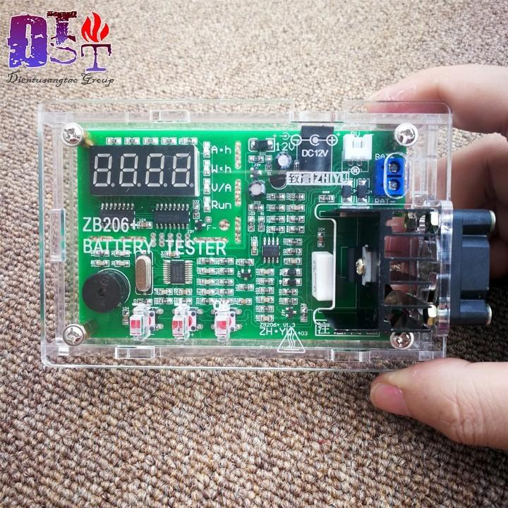 Máy kiểm tra dung lượng Pin ZB206 12V