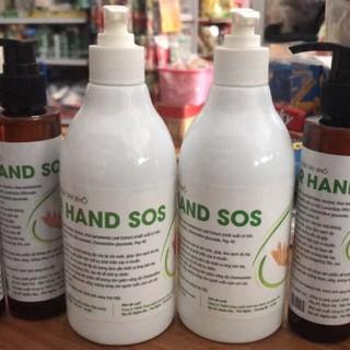 Nước rửa tay khô DR HAND SOS chai 400ml - HAND SOS thumbnail