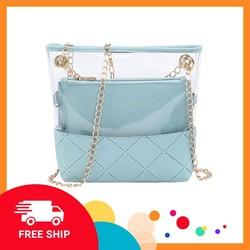Túi đeo chéo [FREESHIP] Bộ 2 túi kết hợp B083