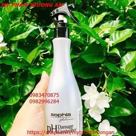 Xịt dưỡng cân bằng chống hỏng tóc pH Sophia Platinum 250ml và 2 kẹp vịt - MPTA 5