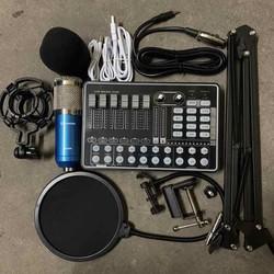 conbo thu âm livestream karaoke BM900-Sound card h9 có autotun bảo hành 6 tháng