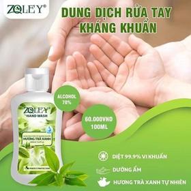 [Nhập SD4829 còn 70K] Combo 2 Chai Nước rửa tay khô ZQLEY mỗi chai 100ml - NRT ZQ