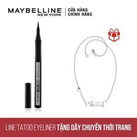 Kẻ Mắt Maybelline Line Tatoo tặng dây chuyền Maybelline New York - TUML00276CB