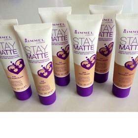 Kem nền kiềm dầu Rimmel Stay Matte Liquid Mousse Foundation - 02328-1