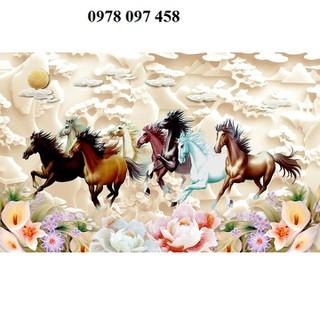 Gạch tranh phong thủy - tranh ngựa - TT56R thumbnail