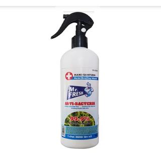 Xịt rửa tay kháng khuẩn Mr.Fresh 500ml - MKH thumbnail