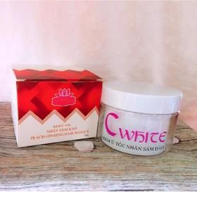 kem ủ tóc C White 250g nhân sâm đào - fded